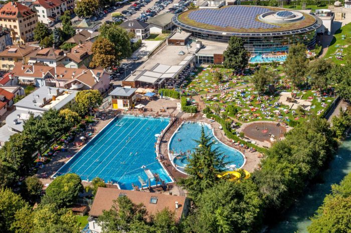 Acquarena Brixen Wellness Schwimmbad Spaß Sauna Fitness Südtirol Erlebnis