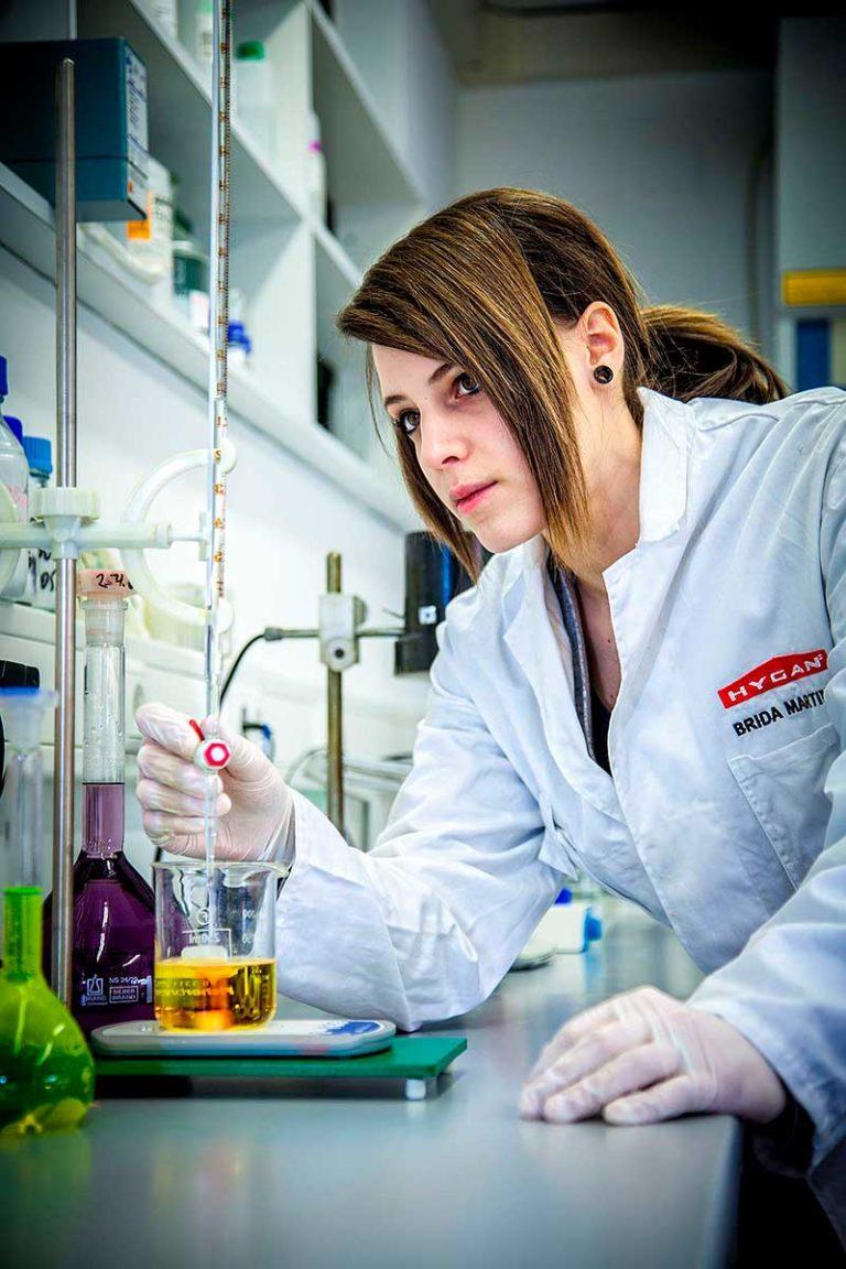 Hygan Leifers Südtirol Technology chemisches Labor Forschung Entwicklung Reinigungsmittel