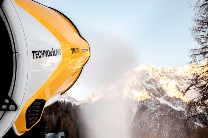 TechnoAlpin TR10 Schneeerzeuger Sexten Dreizinnen Südtirol Rotwand Schnee Winter Skifahren