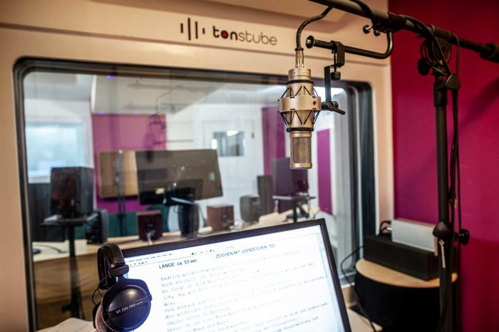 Tonstube Audio Production Tonstudio Aufnahmestudio Voice-Recording Remote-Recording Dialog Podcast Audioguides Oberbozen Ritten Südtirol Bozen